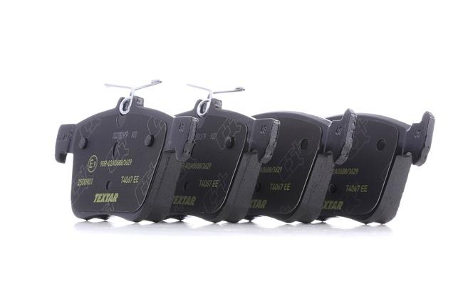 OEM Bremsbelagsatz, Scheibenbremse TEXTAR 8996D1761 für SKODA