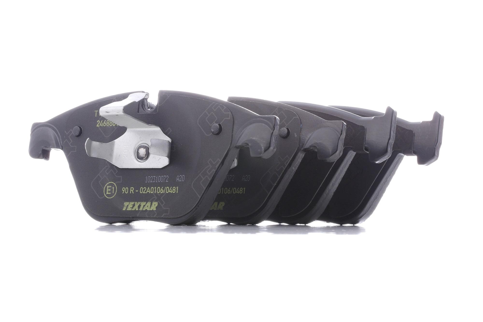 Bremsbelagsatz TEXTAR 2468819205 Bewertung