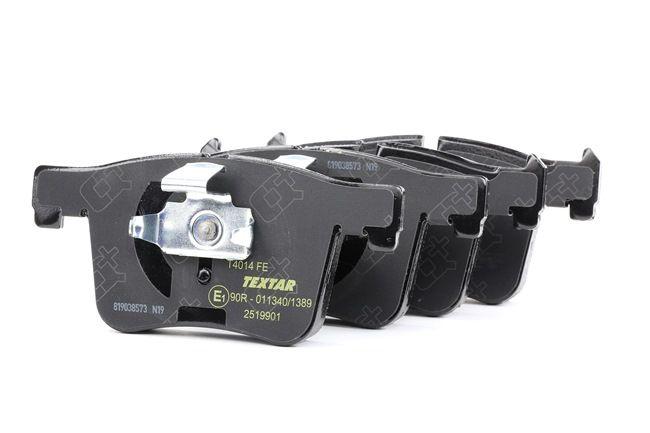 OEM Bremsekloss sett TEXTAR 2519901