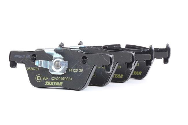 OEM Brake Pad Set, disc brake TEXTAR 2530701