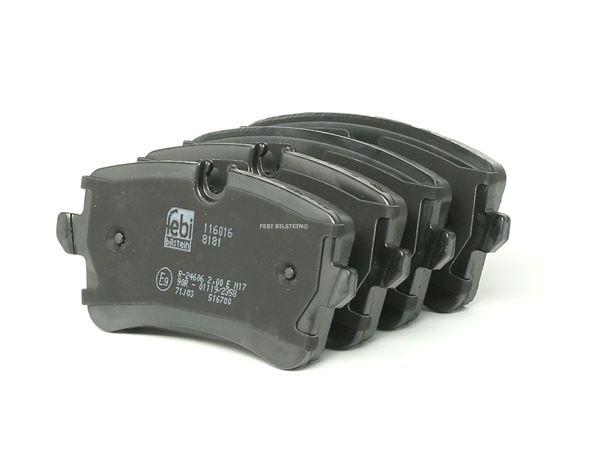 Kit de plaquettes de frein, frein à disque Largeur: 60,0mm, Épaisseur 1: 17,3mm avec OEM numéro 4G0698451�A