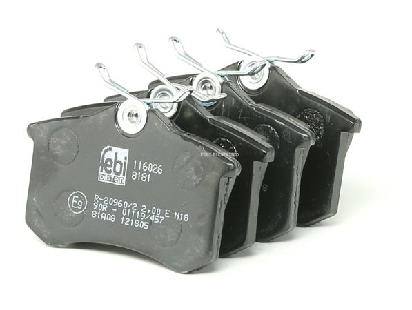 Bremsbelagsatz, Scheibenbremse Breite: 52,9mm, Dicke/Stärke 1: 16mm mit OEM-Nummer 7701208421