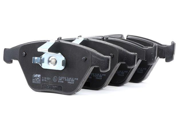 Bremsbelagsatz, Scheibenbremse Breite: 68,5mm, Dicke/Stärke 1: 19,8mm mit OEM-Nummer 34116794917