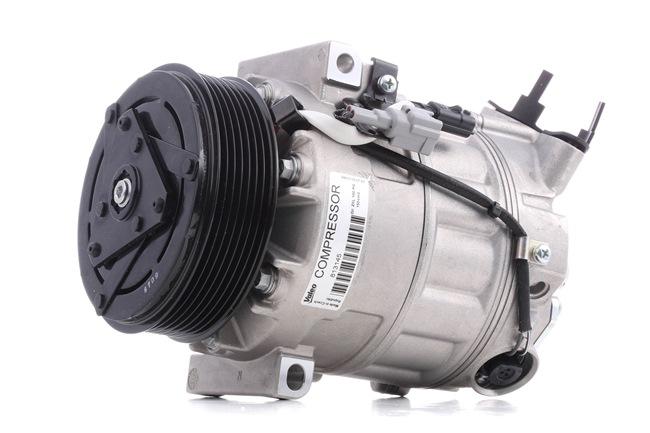 VALEO Compresores de aire acondicionado RENAULT NEW ORIGINAL PART, PAG 46, Frigor.: R 134 a, con aceite de compresor PAG