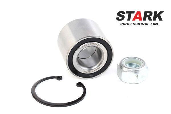 STARK Hinterachse beidseitig, ohne ABS-Sensorring, ohne Drehzahlsensor, ohne integriertes Radlager, ohne Radbefestigungsbolzen SKWB0180178