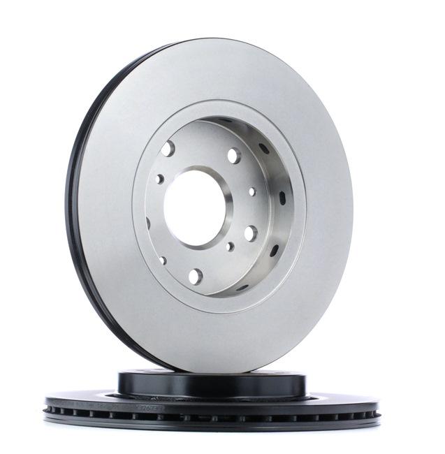 Frenos de disco TRW 7702792 ventilado, barnizado