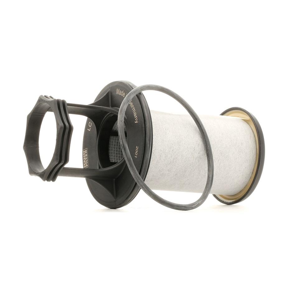 Filtro, ventilación bloque motor MANN-FILTER LC 5001 x evaluación
