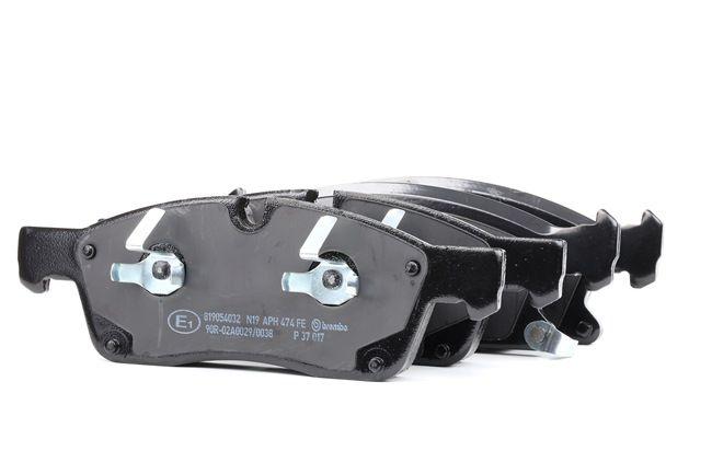 OEM Brake Pad Set, disc brake BREMBO D14558655 for DODGE