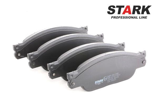 STARK Bremseklosser framaksel, ikke klargjort for slitasjeindikator