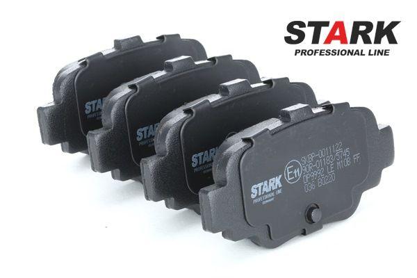 STARK Hinterachse, exkl. Verschleißwarnkontakt SKBP0011122