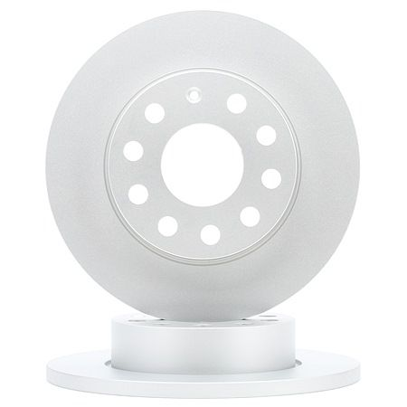 Bremsscheibe Bremsscheibendicke: 12,0mm, Felge: 5-loch, Ø: 256,0mm mit OEM-Nummer 1K0 615 601 L