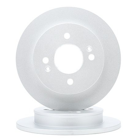 Brake discs and rotors A.B.S. 7710694 Solid, Coated