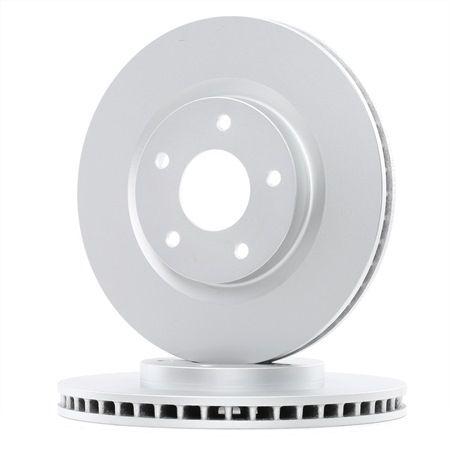 Bremsscheibe Bremsscheibendicke: 26mm, Felge: 5-loch, Ø: 296mm mit OEM-Nummer 40206JD00B
