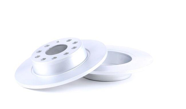 Bremsscheibe Bremsscheibendicke: 10mm, Felge: 5-loch, Ø: 272mm mit OEM-Nummer 1K0 615 601 AA