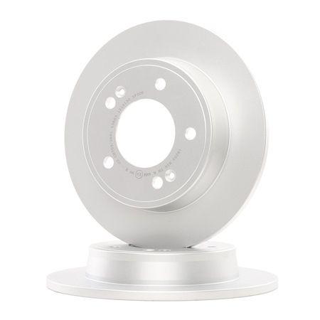 OEM A.B.S. 18203 HYUNDAI i10 Brake disc set