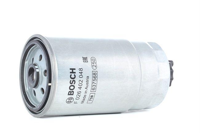 Filtro de combustible BOSCH N2048 Filtro enroscable