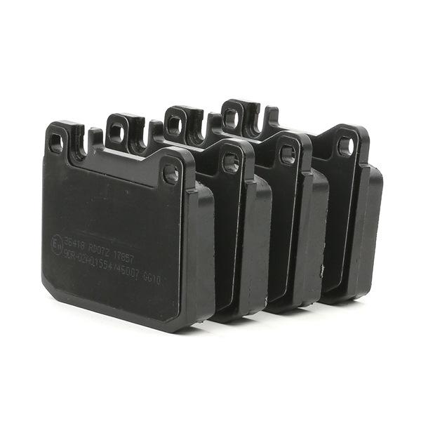 Bremsbelagsatz, Scheibenbremse Breite 1: 89,8mm, Höhe 1: 73,8mm, Dicke/Stärke 1: 17,5mm mit OEM-Nummer A000 420 95 20