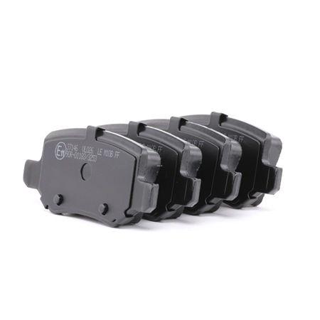 Brake Pad Set, disc brake 37146 A-Class (W169) A 170 1.7 (169.032, 169.332) MY 2004