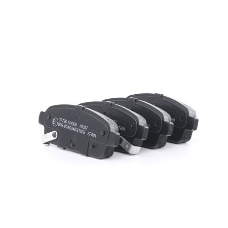 Disk brake pads A.B.S. 7714630 with acoustic wear warning