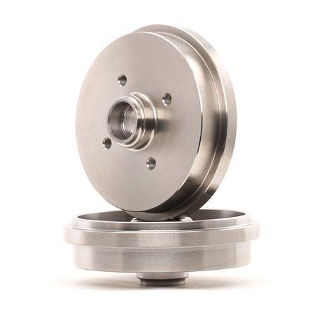 Bremstrommel Br.Tr.Durchmesser außen: 211,5mm, Felge: 4-loch mit OEM-Nummer 171 501 615 A