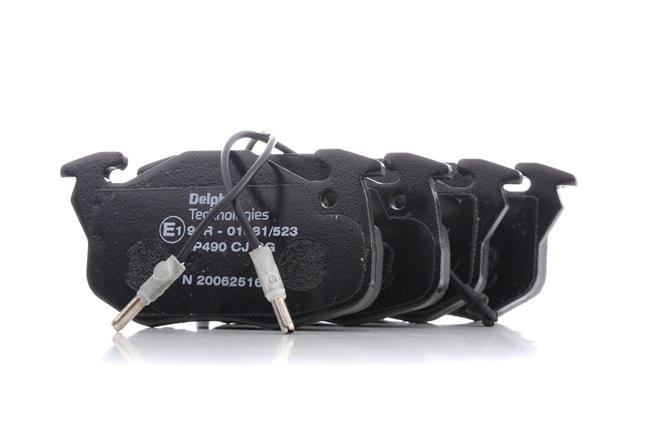 Bremsbelagsatz, Scheibenbremse Höhe: 54mm, Dicke/Stärke 2: 18mm mit OEM-Nummer 424862