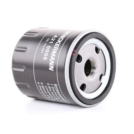 Ölfilter Innendurchmesser 2: 72mm, Innendurchmesser 2: 63mm, Höhe: 88mm mit OEM-Nummer 7700 720 978