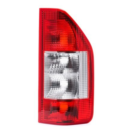 ABAKUS Tail lights MERCEDES-BENZ Right, without bulb, without lamp base, P21/5W, P21W, PY21W