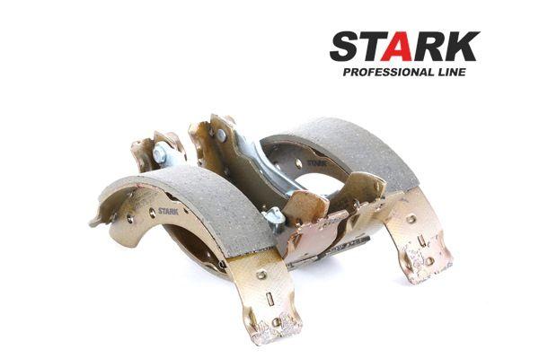 STARK Kit de zapatas de frenos DACIA Eje trasero, Ø: 203,2mm, con palanca freno de mano