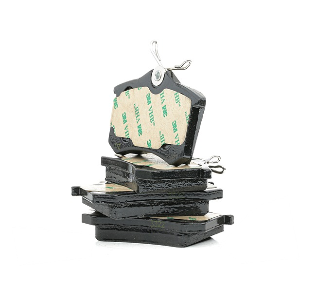 Jogo de pastilhas para travão de disco Largura: 87mm, Altura: 53mm, Espessura: 15mm com códigos OEM JZW 698 451A