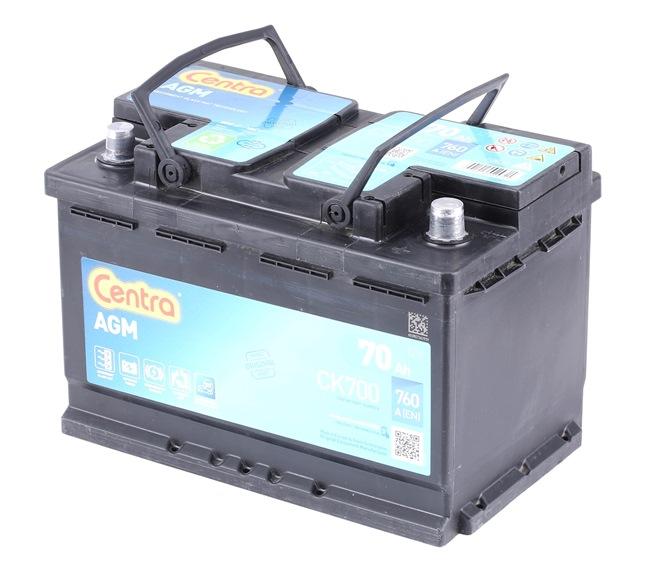 Kfz-Elektroniksysteme: CENTRA CK700 Starterbatterie Start-Stop