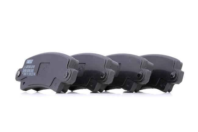 Bremsbelagsatz, Scheibenbremse Breite: 96mm, Höhe: 38mm, Dicke/Stärke: 16mm mit OEM-Nummer 04466 02040