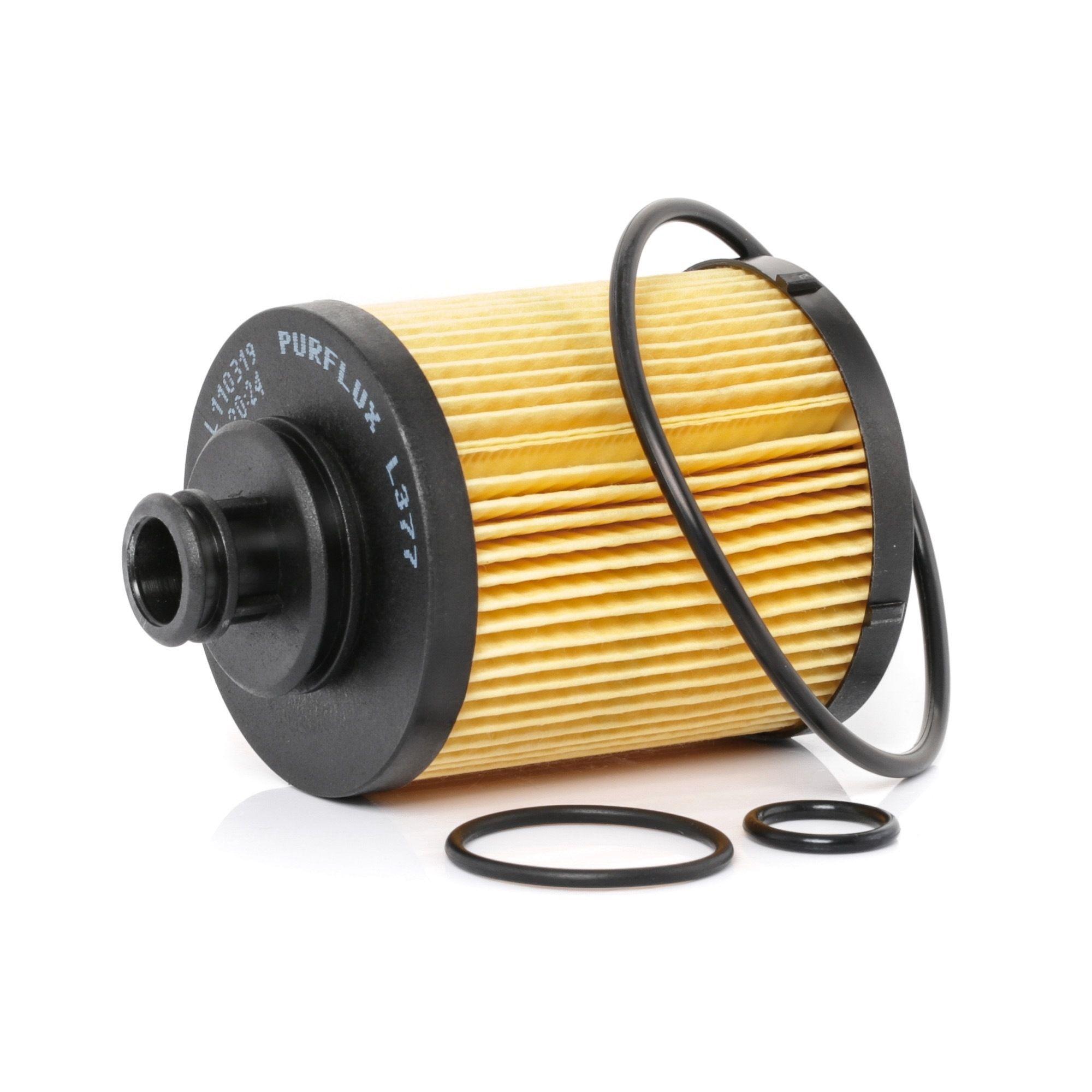Filtro de aceite motor PURFLUX L377 evaluación