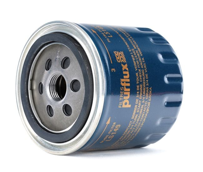 PURFLUX Filtro de aceite motor VW Filtro enroscable