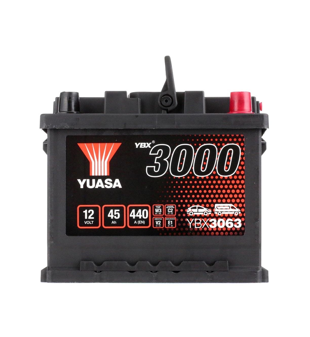 Batterie YUASA YBX3063 Bewertung