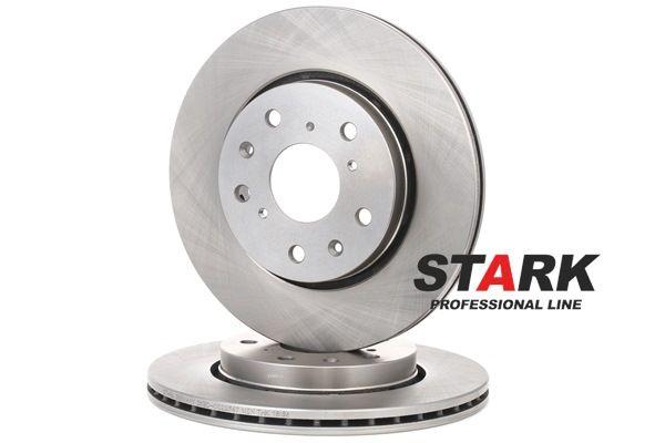 Frenos de disco STARK 7861826 Eje delantero, Ventilación interna