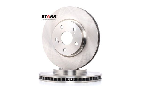 Brake discs and rotors STARK 7862191 Front Axle, Internally Vented, Uncoated, without wheel hub, without wheel studs