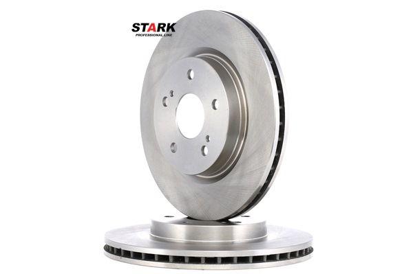 Frenos de disco STARK 7862194 Eje delantero, Ventilación interna, Acero