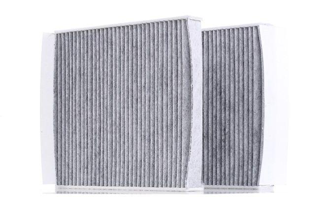 Filter, Innenraumluft Länge: 241mm, Breite: 206mm, Höhe: 30mm mit OEM-Nummer 6411 9163 329