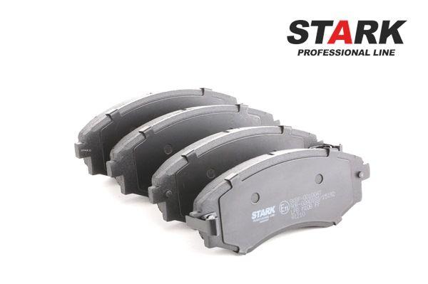 Bremsbelagsatz, Scheibenbremse Breite: 54mm, Dicke/Stärke: 17mm mit OEM-Nummer 58101 29A40