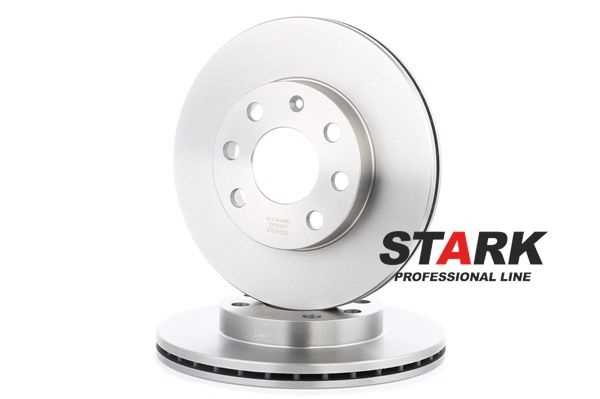 Frenos de disco STARK 7880477 Eje delantero, Ventilación interna