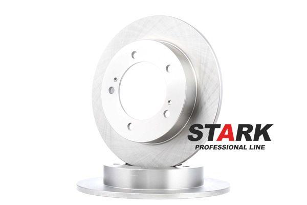 Frenos de disco STARK 7880507 Eje delantero, Macizo, sin buje de rueda, sin perno de sujeción de rueda