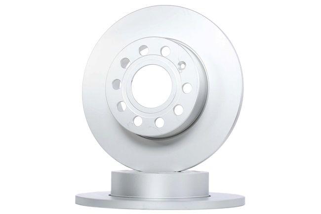 Bremsscheibe Bremsscheibendicke: 12mm, Lochanzahl: 9, Ø: 260mm mit OEM-Nummer 1K0 615 601L