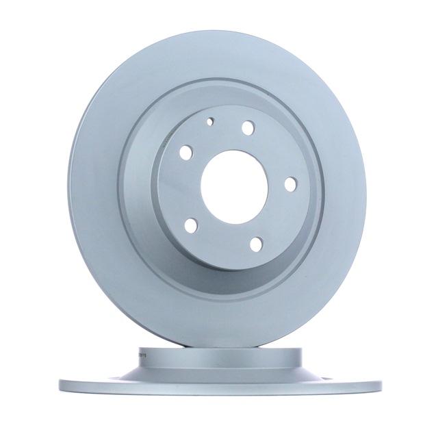 Disco de freno 24.0110-0381.1 ATE Eje trasero, Macizo, revestido Espesor disco freno: 10,0mm, Núm. orificios: 5, Ø: 303,0mm