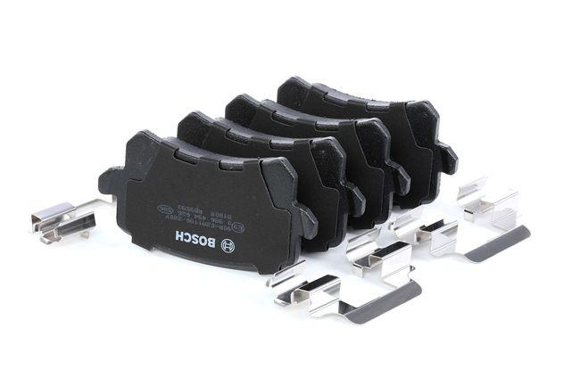 Bremsbelagsatz, Scheibenbremse Breite: 105,3mm, Höhe: 56,3mm, Dicke/Stärke: 16,4mm mit OEM-Nummer 1K0 698 451L