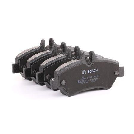 Bremsbelagsatz, Scheibenbremse Breite: 136,7mm, Höhe: 63,2mm, Dicke/Stärke: 20mm mit OEM-Nummer A0044206920