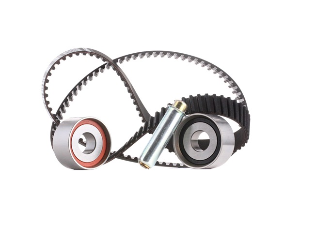 Cam belt kit BOSCH SPANNROLLENSET Teeth Quant.: 152, with tensioner element, with tensioner pulley damper