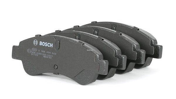 Brake Pad Set, disc brake Width: 136,8mm, Height: 49,1mm, Thickness: 18,8mm with OEM Number 16 11 140 680