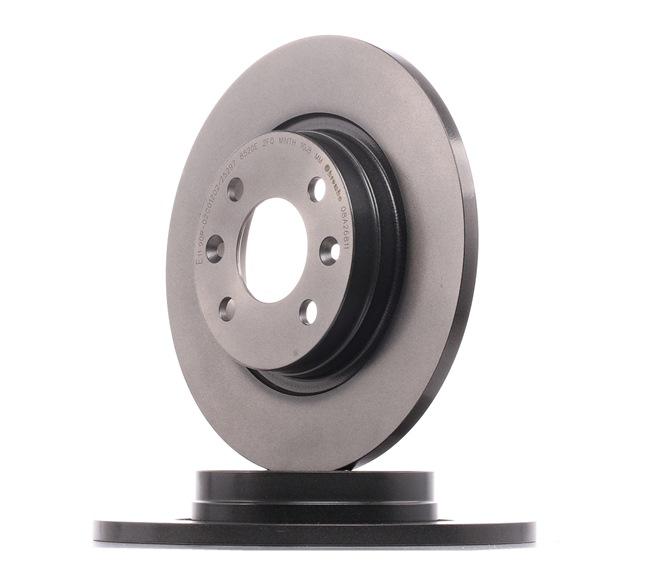 Bremsscheibe Bremsscheibendicke: 12mm, Lochanzahl: 4, Ø: 260mm mit OEM-Nummer 60 01 547 683