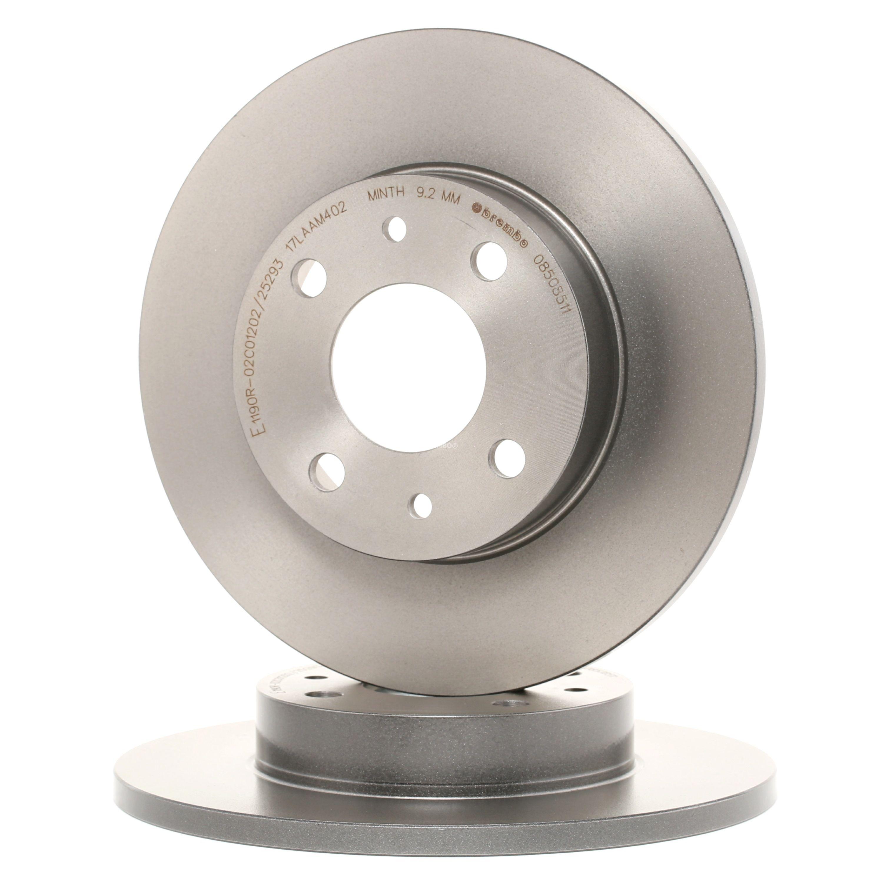 Brake Rotors BREMBO 08.5085.11 rating