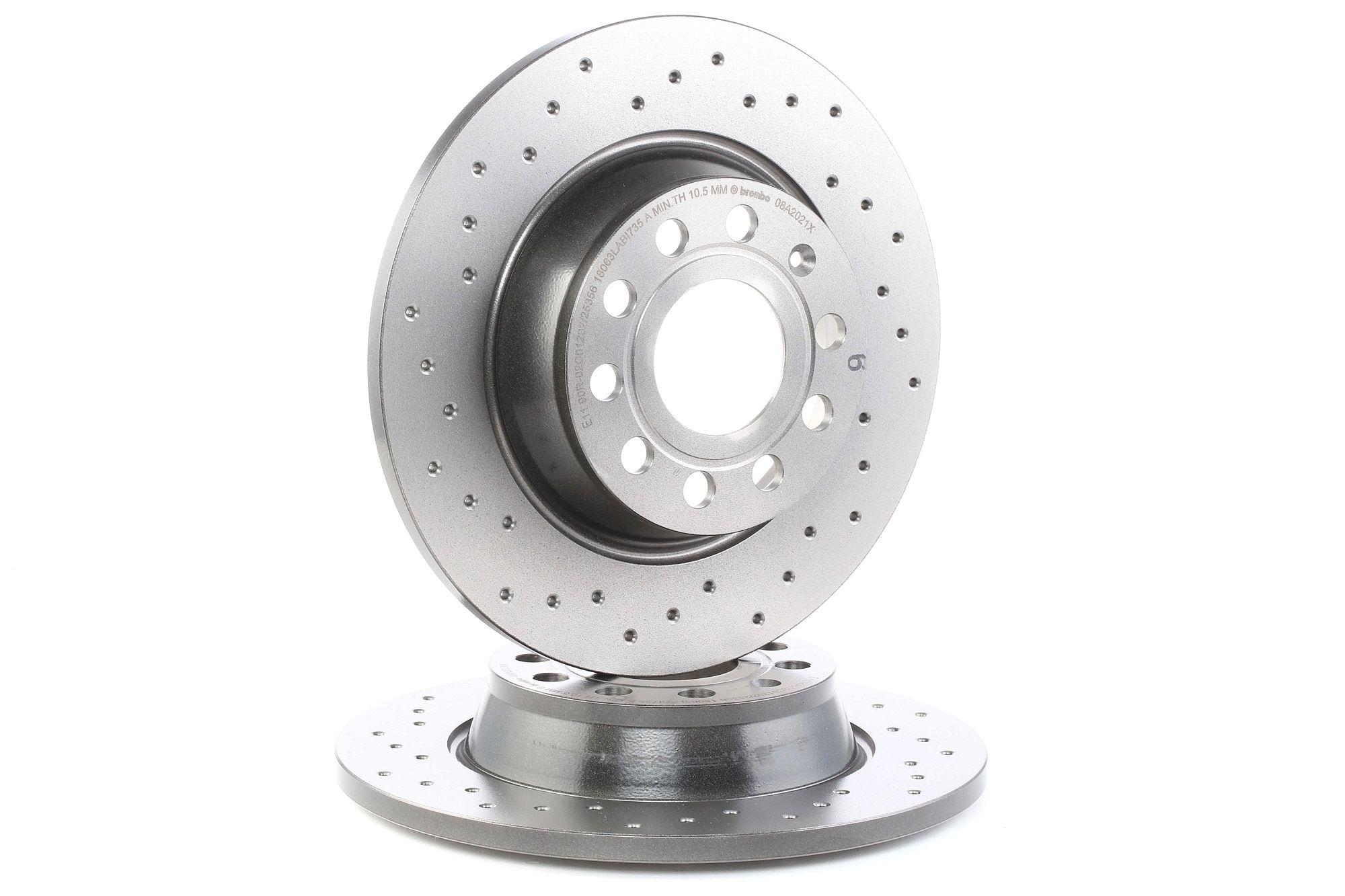 Brake Rotors BREMBO 08.A202.1X rating